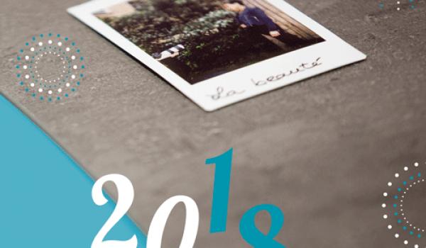 Belle et heureuse année 2018