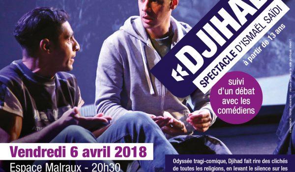 DJIHAD spectacle d'Ismaël Saïdi